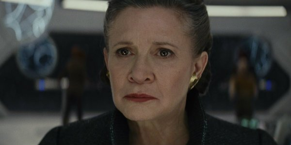 General Leia Carrie Fisher Star Wars The last Jedi
