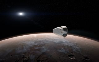 SpaceX's Dragon Orbits Mars
