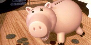 John Ratzenberger as Hamm in Toy Story