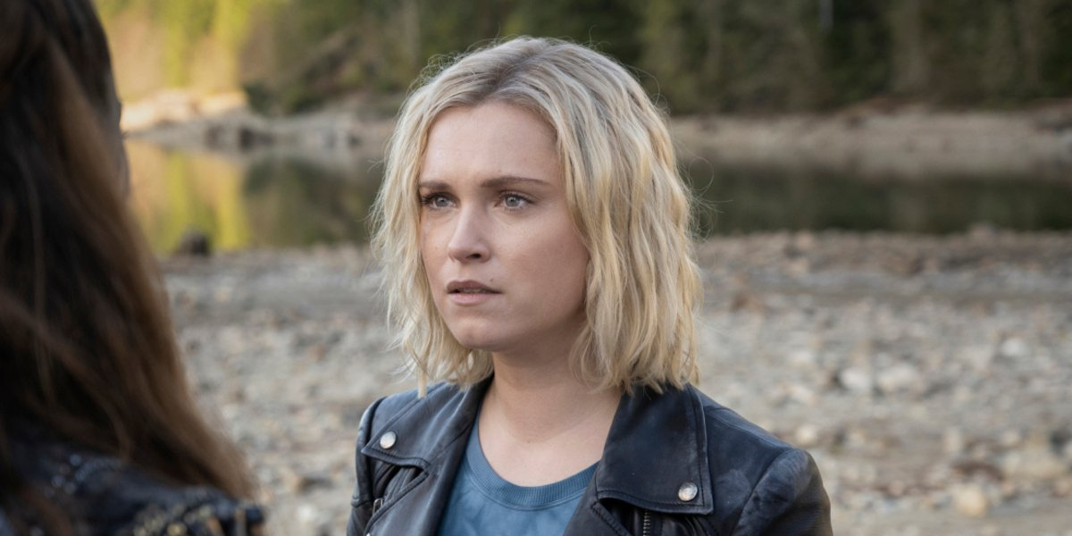 the 100 series finale eliza taylor clarke griffin the cw