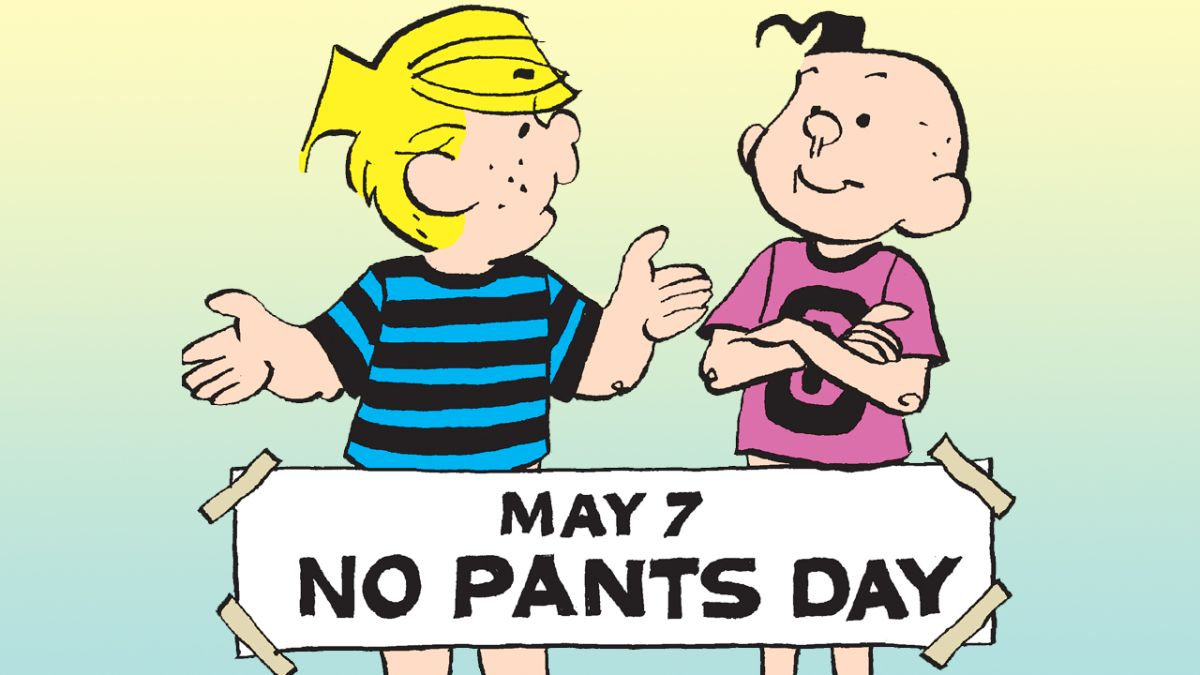 Celebrate 'No Pants Day' this Friday with some of your favorite comic strips