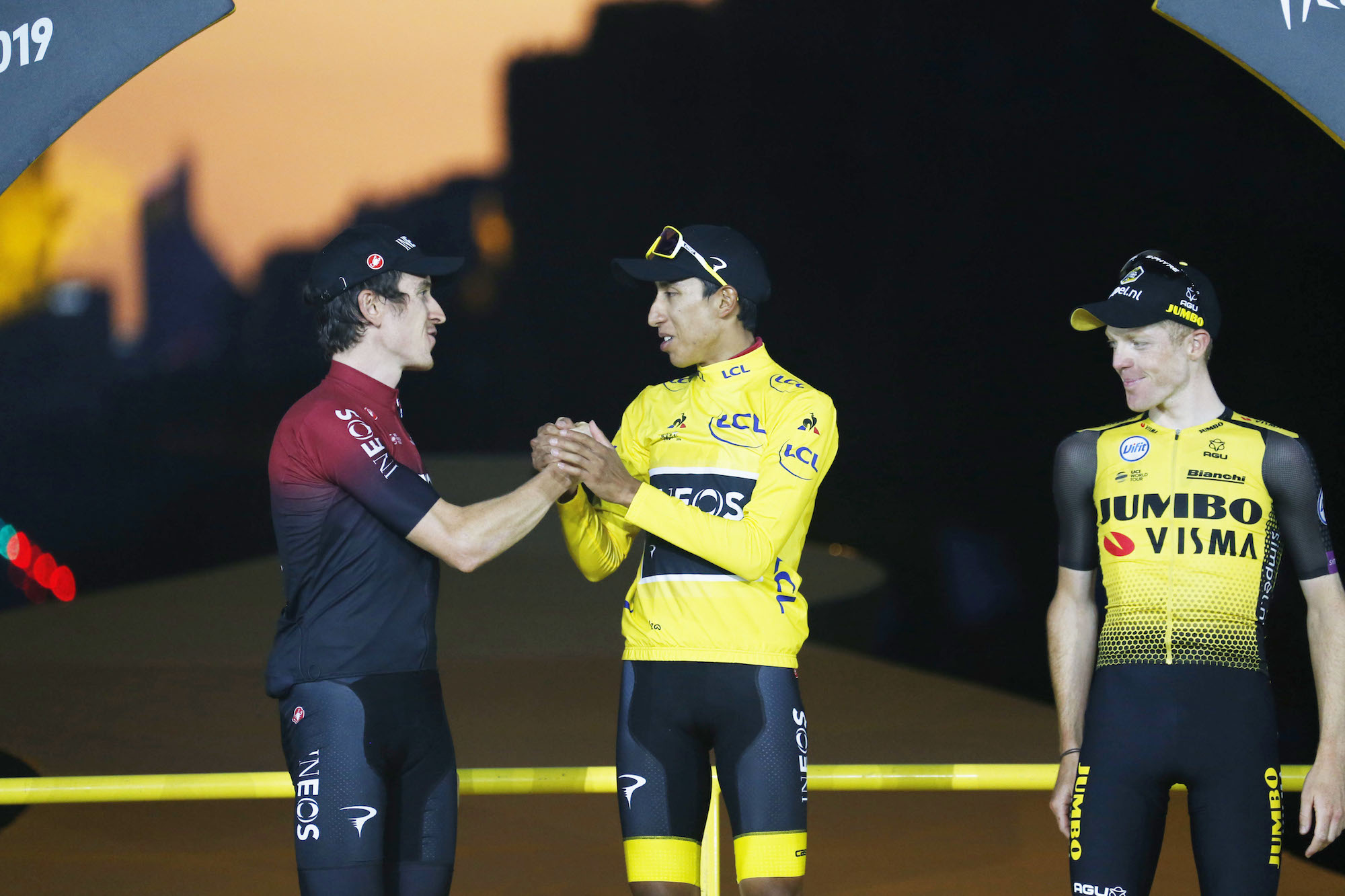Geraint Thomas admits he's disappointed not to win Tour de France 2019 but proud to help Egan Bernal