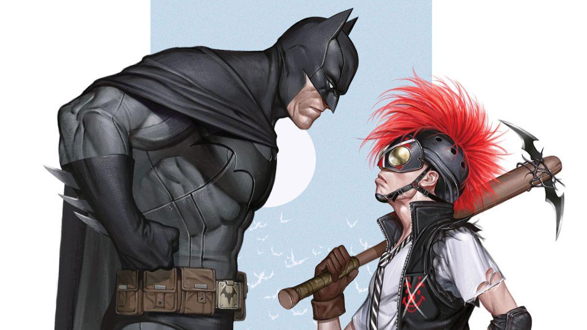 So the new Batman character Clownhunter is not Damian Wayne in disguise