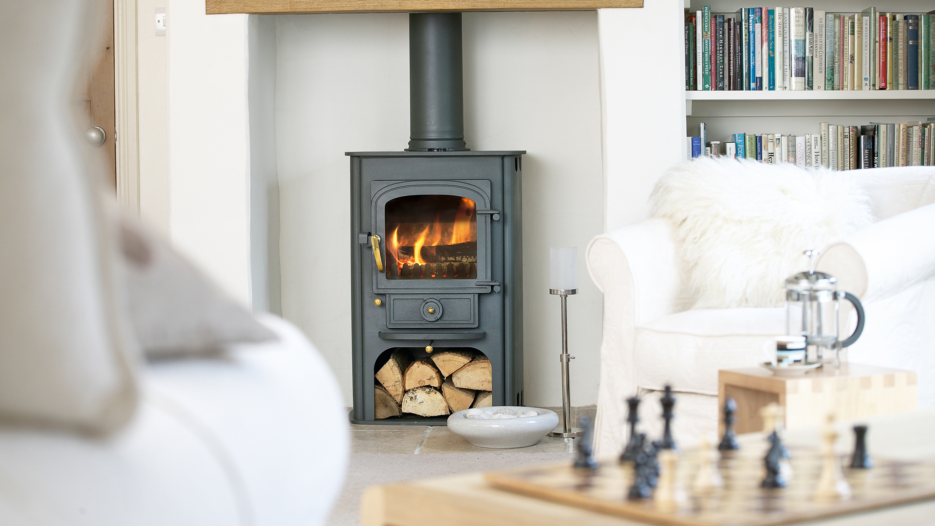 How to tile a fireplace | Real Homes