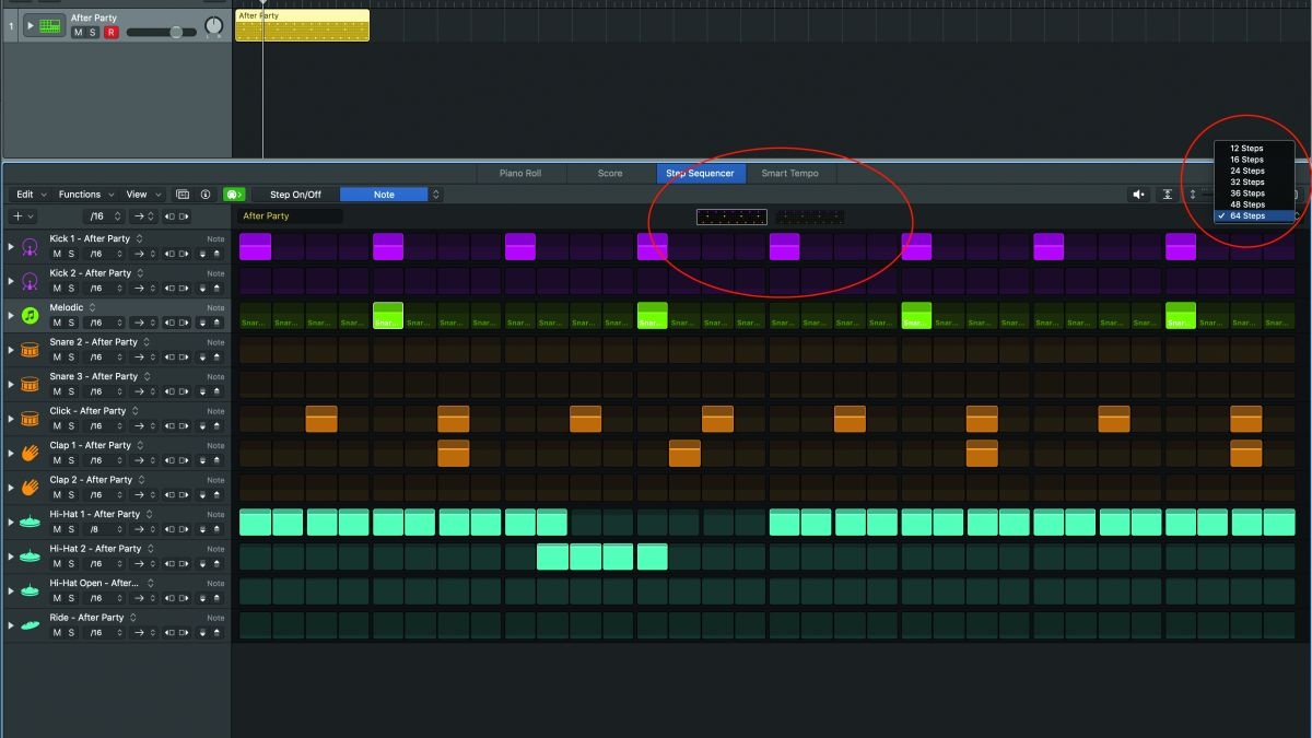 How to use Logic Pro X's new step sequencer to make a beat