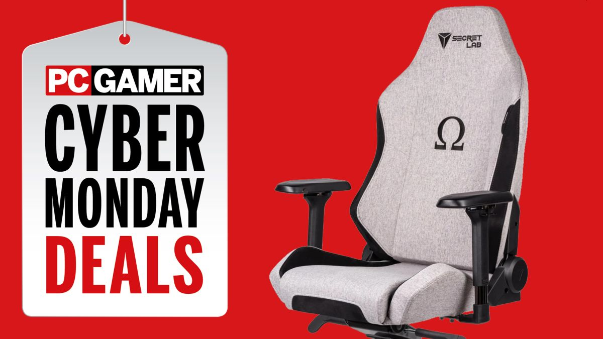 Astounding Cyber Monday Gaming Chair Deals 2019 Pc Gamer Ibusinesslaw Wood Chair Design Ideas Ibusinesslaworg