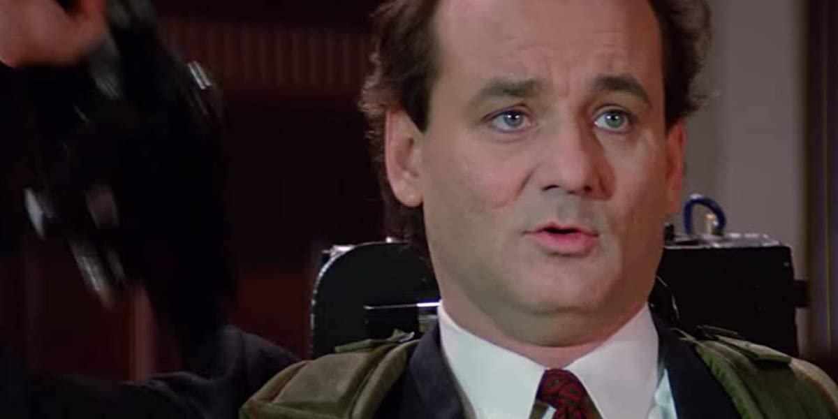 Bill Murray in Ghostbusters 2