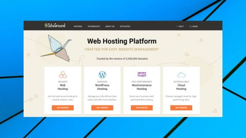 Siteground Hosting Warranty Page