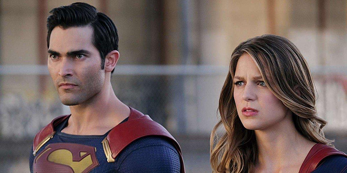 Superman (Tyler Hoechlin) with his cousin (Melissa Benoist) on Supergirl