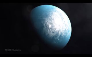 NASA's TESS Planet Hunter Finds Its 1st Earth-Size World in 'Habitable Zone'