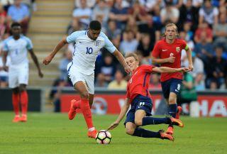 England U21 v Norway U21 – UEFA Under-21 Euro 2017 Qualifying – Group 9 – Community Stadium