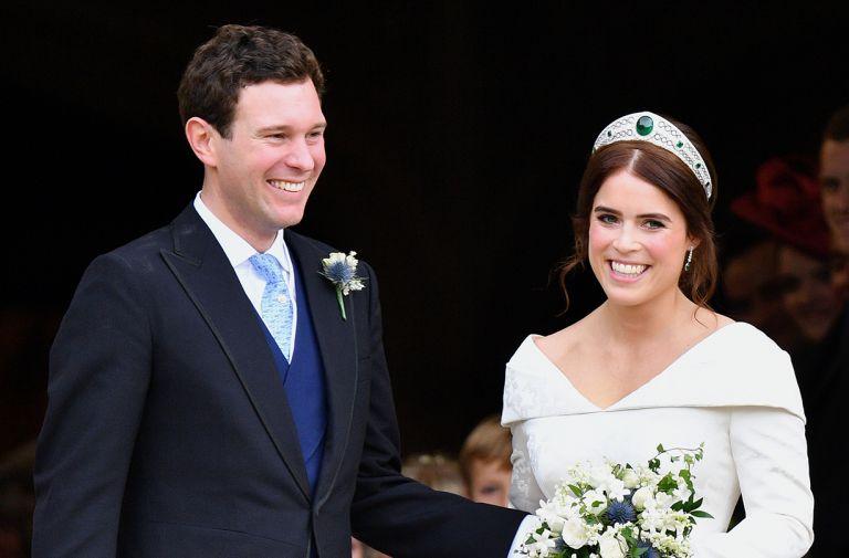 princess eugenie unseen photos jack brooksbank tenth anniversary lockdown