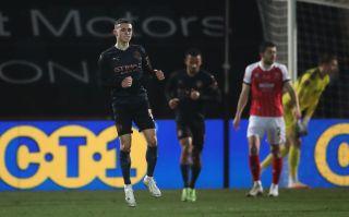 Cheltenham Town v Manchester City – Emirates FA Cup – Fourth Round – Jonny-Rocks Stadium