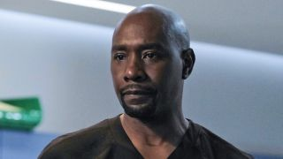 Morris Chestnut as Dr. Barrett Cain in The Resident.