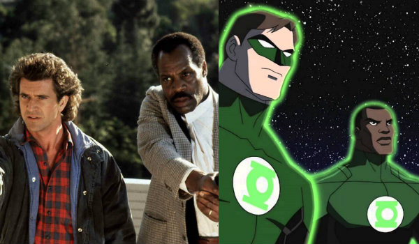 Lethal Weapon Green Lantern Corps