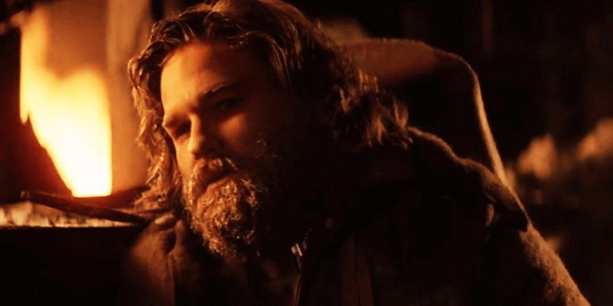 Kurt Russell as R.J. MacReady in The Thing