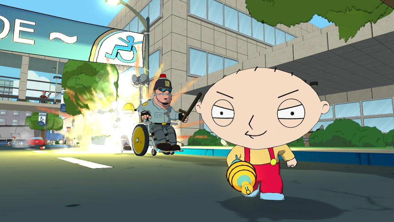 Family Guy: Back to the Multiverse Screenshots Shoot Up Quahog #22907
