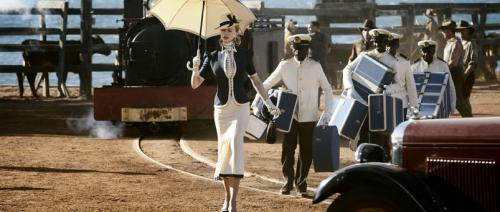Australia - Nicole Kidman's English aristo Lady Sarah Ashley arrives Down Under