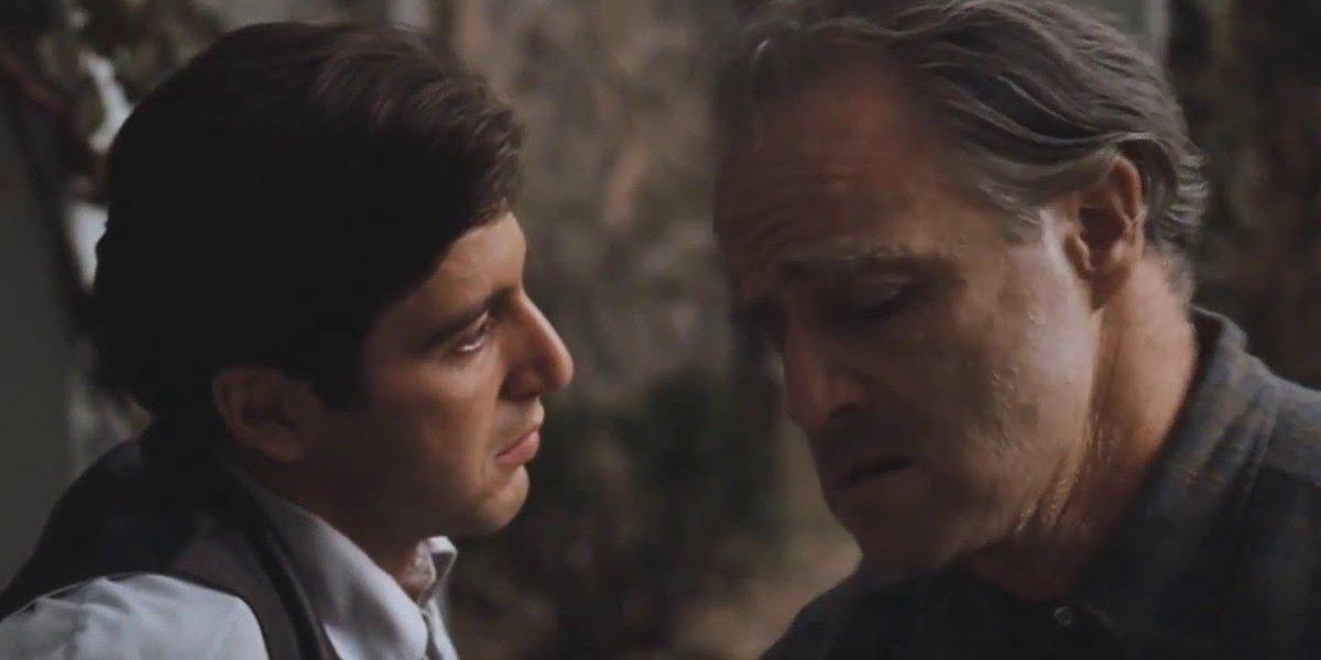 Al Pacino and Marlon Brando is The Godfather