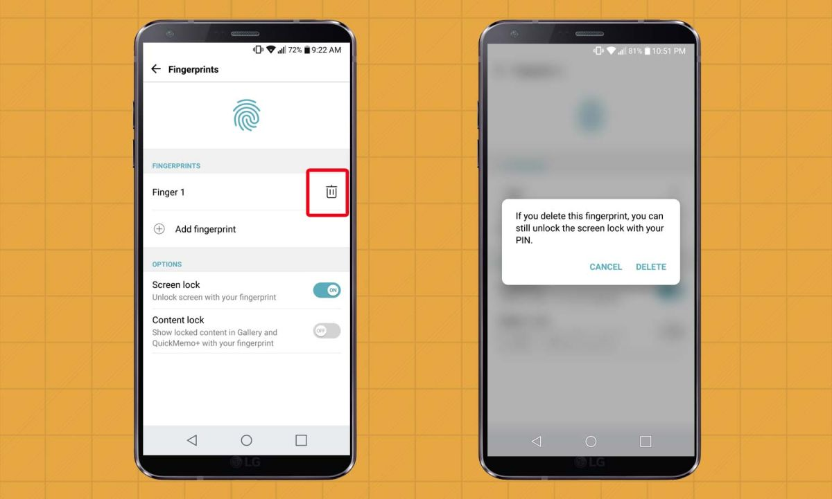 How to Set Up the LG G6's Fingerprint Sensor | Tom's Guide