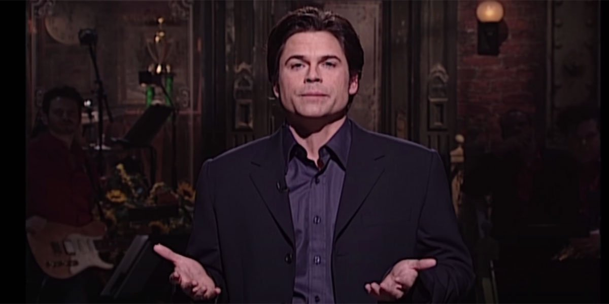 Decades Later, Rob Lowe Is Still Confused About Something Brendan Fraser Did On SNL