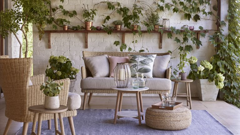 Outdoor living spaces: John Lewis Croft Collection