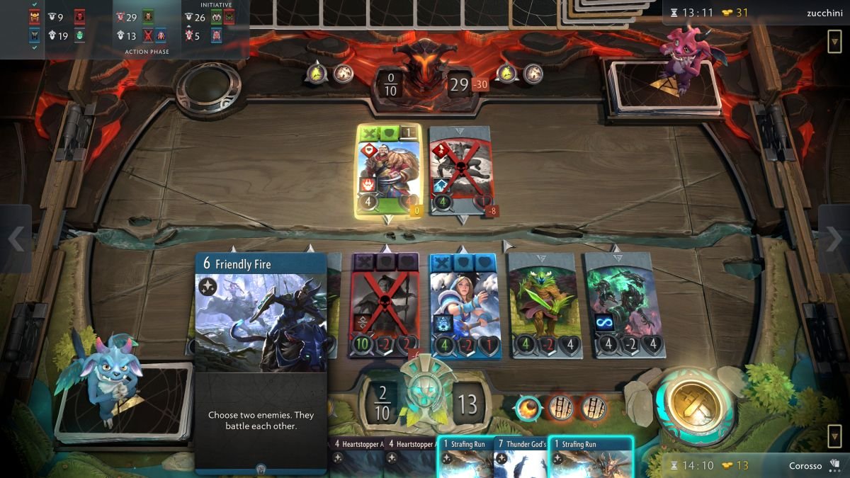 Artifact 1.1 adds unusual chat system, new tournaments, and a leaderboard