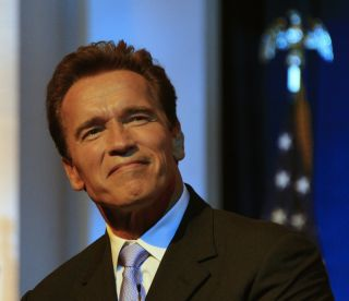 Arnold Schwarzenegger as governor of California.