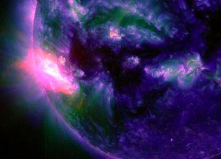X-Class Solar Flare of Oct. 19, 2014