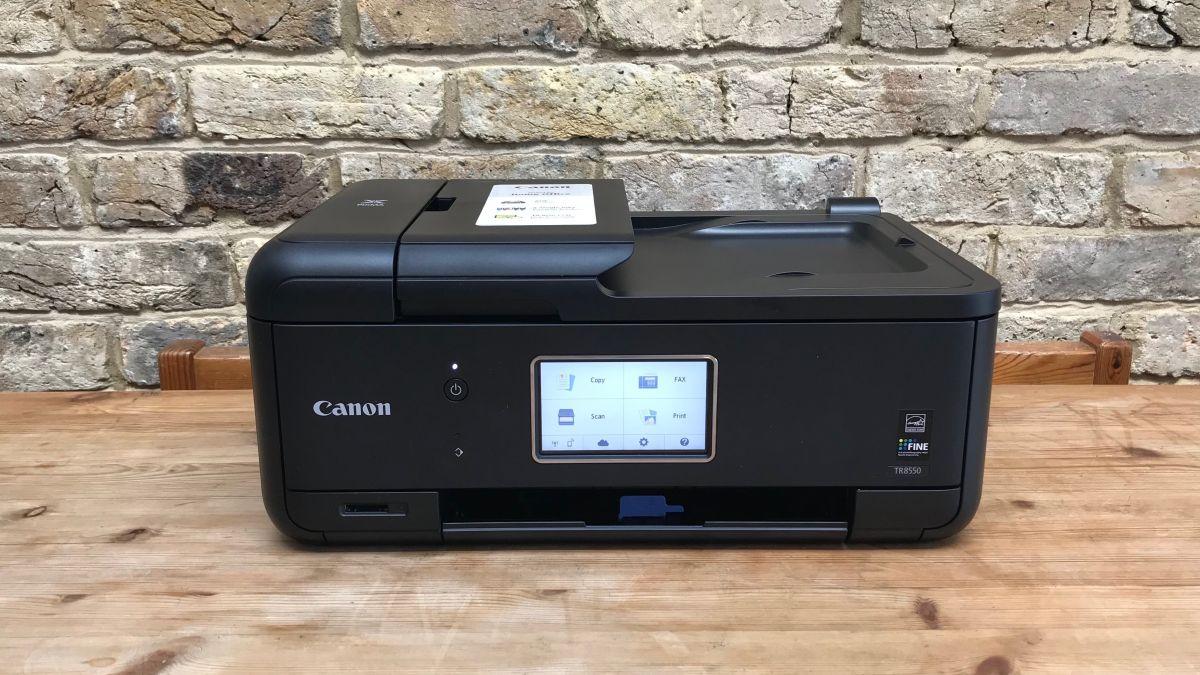 Canon Pixma Tr8550 Review Techradar