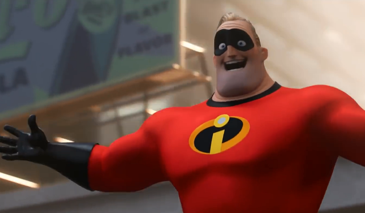 Mr. Incredible The Incredibles HBO
