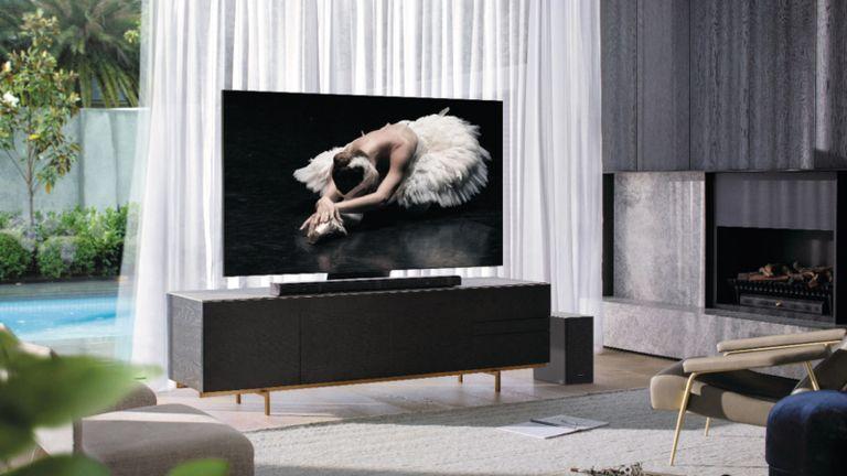 "best 85 inch tv: Samsung 82"" Q800T Smart 8K QLED TV"