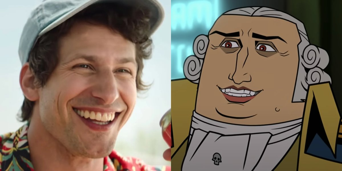Andy Samberg and Benedict Arnold from America: The Motion Picture