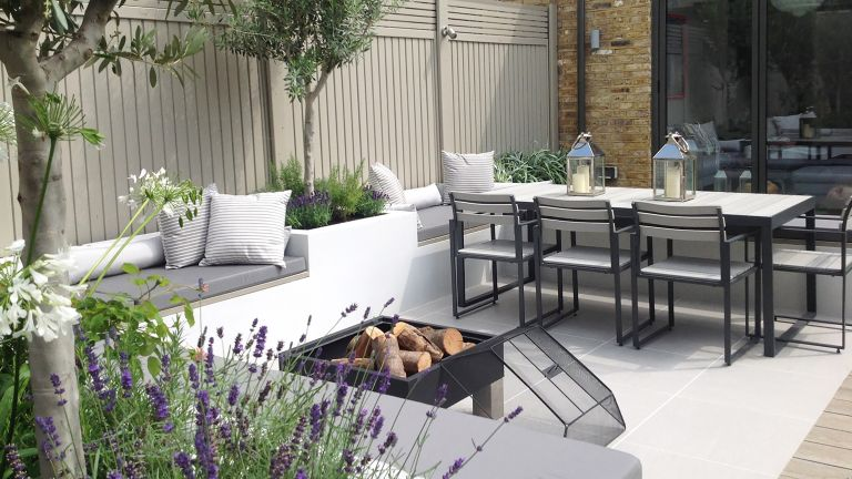 modern garden ideas: small city plot harrington porter