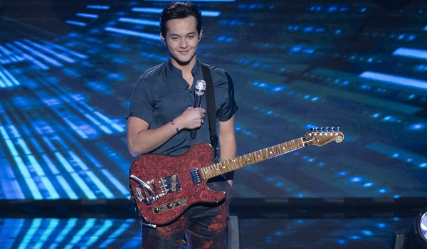 laine hardy on stage american idol