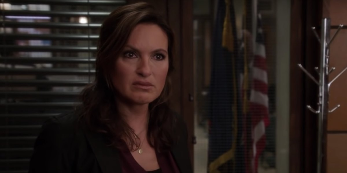 Mariska Hargitay on Law And Order: SVU