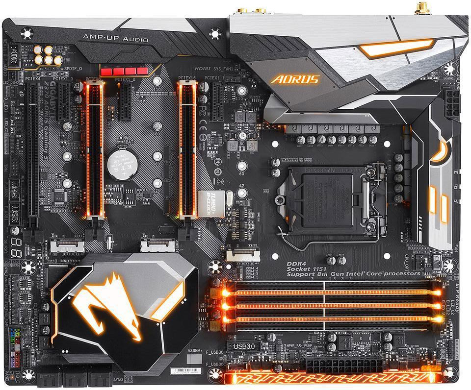 Grab an Intel Core i7-8700K and Gigabyte Z370 Gaming 5
