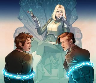 """London-based Titan Comics delivers a new """"Doctor Who"""" team-up series this November titled """"Empire of the Wolf."""""""
