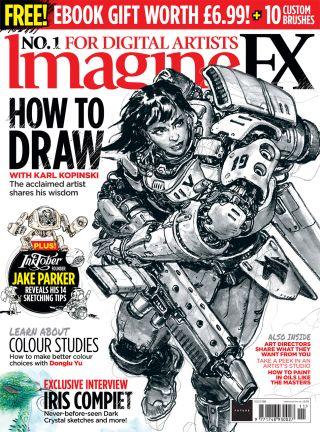ImagineFX issue 192 cover artwork
