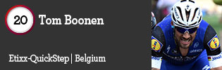 100 Best Road Riders of 2016: #20 Tom Boonen