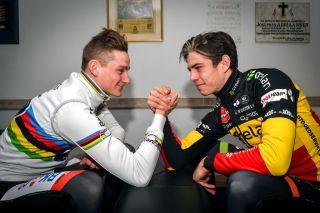 Wout Van Aert and Mathieu van der Poel
