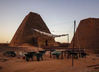 Royal Pyramids of Meroe
