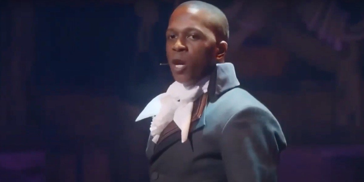 "SCREENSHOT from YouTube video ""The Room Where It Happens - Hamilton"""