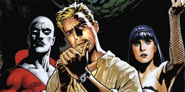 Justice League Dark Deadman John Constantine Zatanna