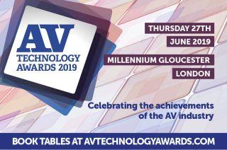 AV Technology Awards 2019