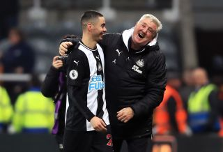 Newcastle United v Crystal Palace – Premier League – St James' Park