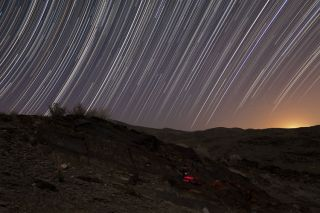 Jamshidi star trails iran