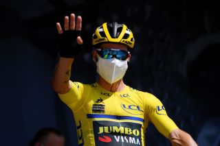 Primoz Roglic: the race leader behind the mask