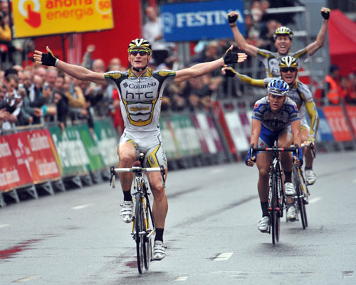 Andre Greipel wins, Vuelta a Espana 2009, stage 4