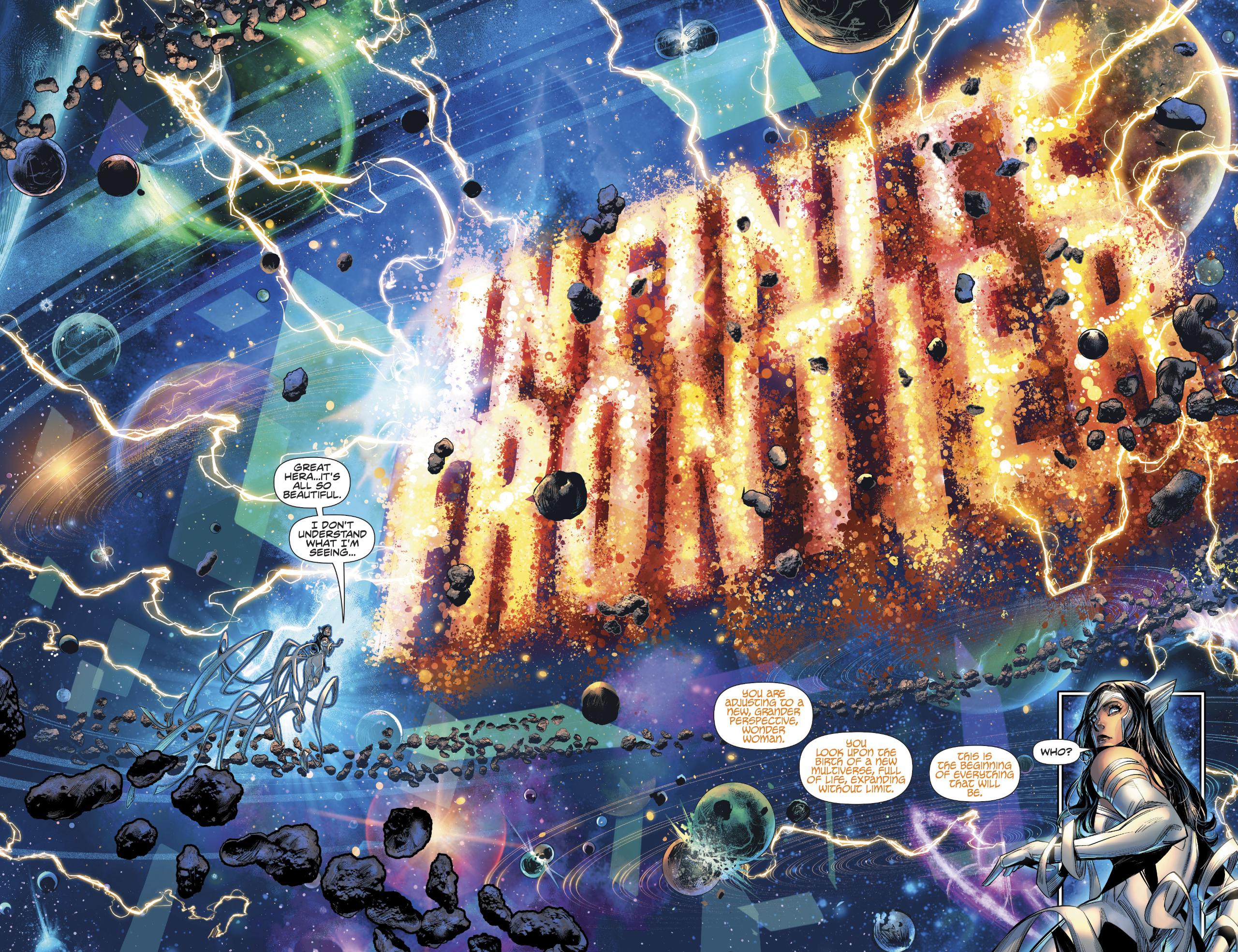 Vista previa de Infinite Frontier # 0